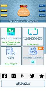 Download Englisch lernen Vokabeln - Kostenlose App For PC Windows and Mac apk screenshot 1