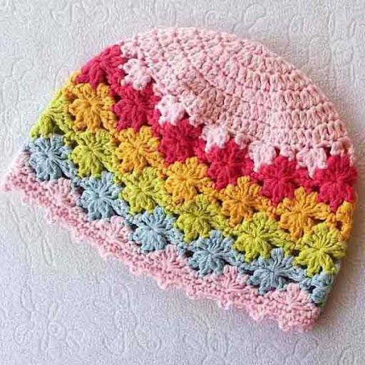 DIY Crochet Baby Beanie