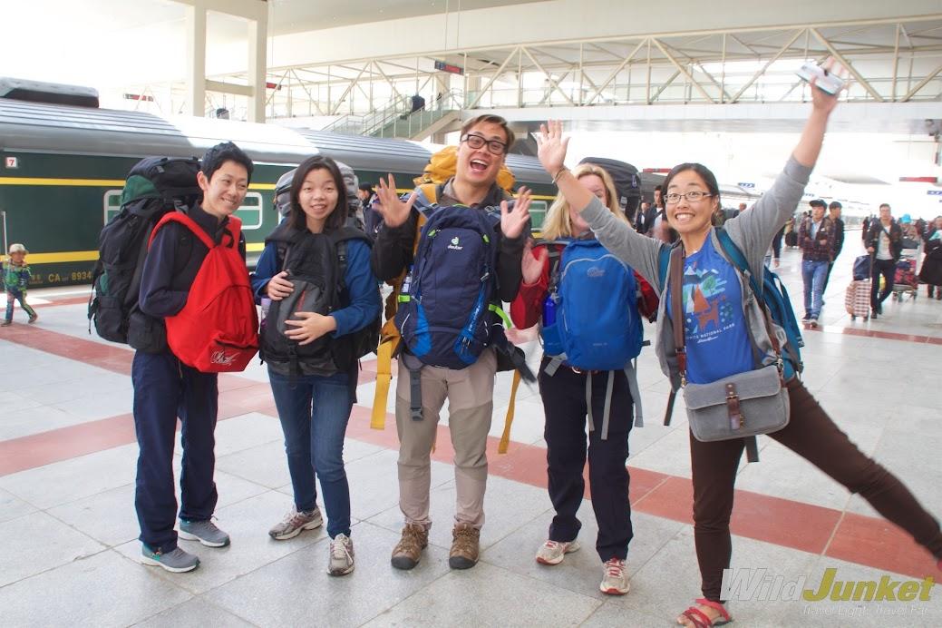 We're finally in Tibet!!