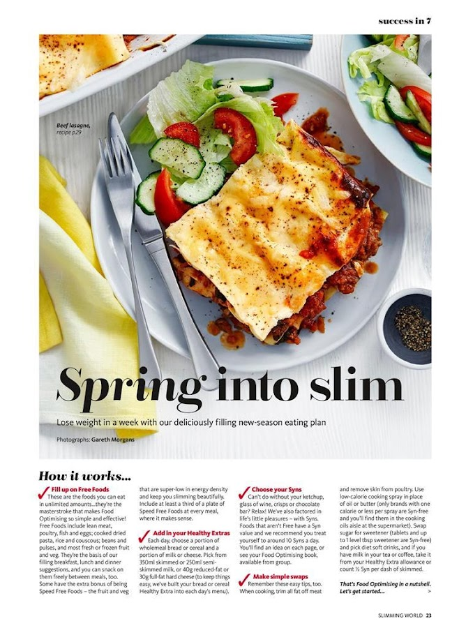 Slimming World Magazine- screenshot