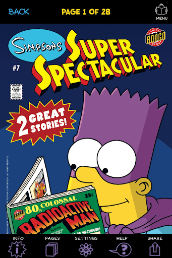 Simpsons Store screenshot