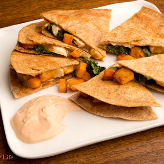 Turkey, Pumpkin & Kale Quesadilla