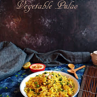 Vegetable Pulao Without Onion Recipes.