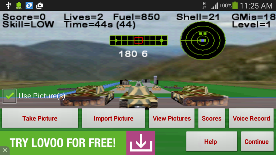 Armour Battle Tank- screenshot
