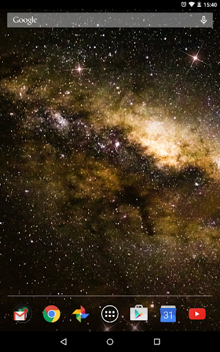 Milky Way Live Wallpaper