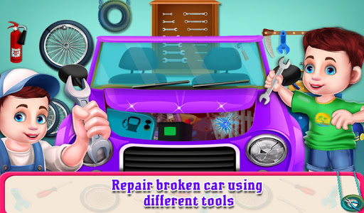 Little Garage Mechanic Vehicles Repair Workshop 1.0.5 screenshots 3