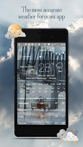 Weather Live - Weather Forecast Pro 3.4.203 screenshots 1