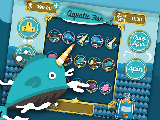Aquarium Sea Fish Slots Casino