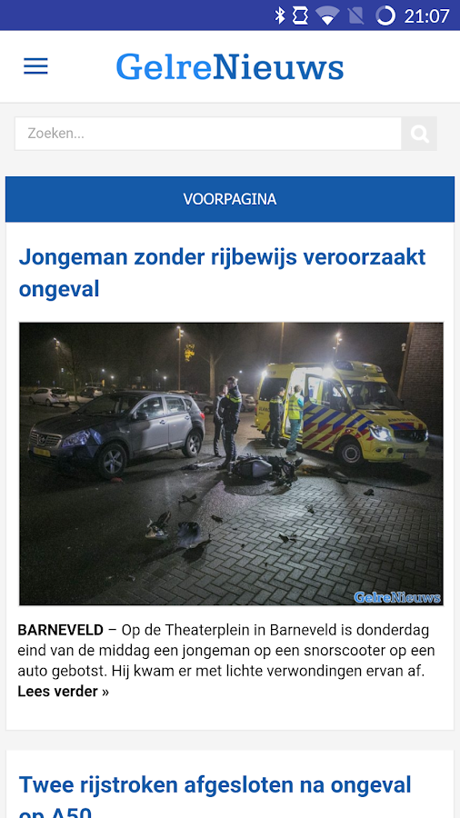 GelreNieuws- screenshot