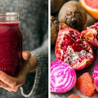 Pomegranate, Grapefruit, Beet Smoothie Recipe