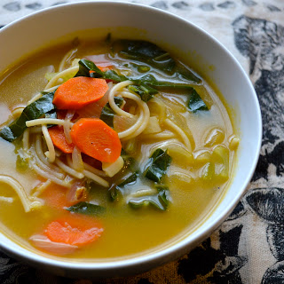 Not Your Mom's Chicken Noodle Soup.