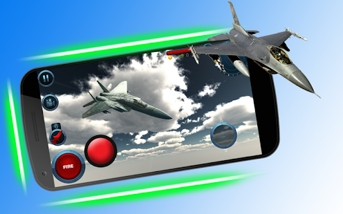 Fly F18 Jet Fighter Airplane 3D Game Attack Free - náhled