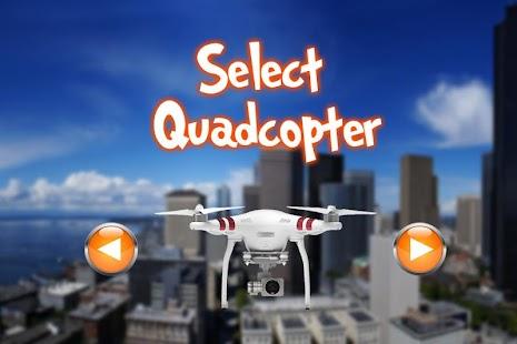 Quadcopter Drone Camera Simulator - náhled