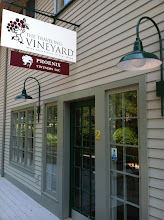Photo: The Traveling Vineyard in Ipswich, MA proudly displaying their BBB Accreditation