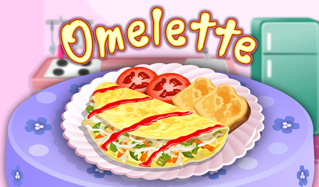 Omelette Cooking Game- screenshot