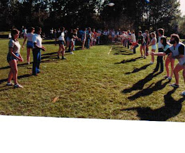 Photo: 1983 MTS Workshop, University of Alberta (UQV), Edmonton, Alberta, Canada - Egg Toss