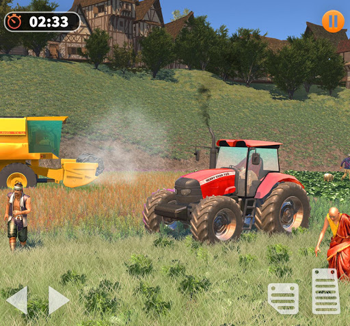 Tractor Farming Simulator - Big Farm Tractor Games apkmr screenshots 12