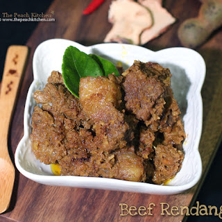 Beef Rendang {Spicy Beef Stew with Coconut}