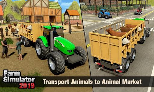 Real Tractor Driver Farm Simulator -Tractor Games 1.0.8 screenshots 6