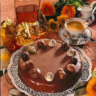 Rich Chocolate Cake.