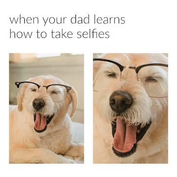 Dad Selfies - Instagram Post template