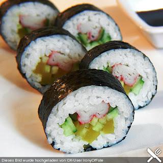 Dicke Sushi - Rollen