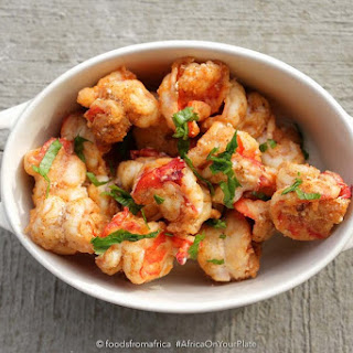 Fried Chilli and Honeyed Prawns