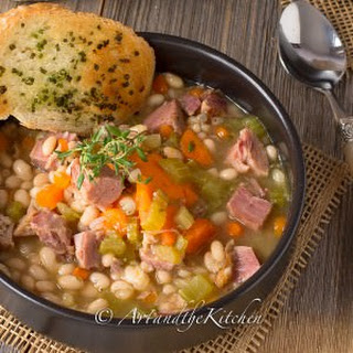 Ham and Bean Soup.