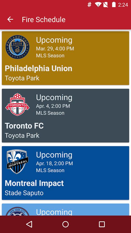 Chicago Fire SC - Official App- screenshot