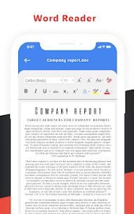 Document Reader – Word, PDF, XLXS, PPT, Txt Files 3