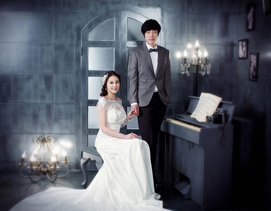 韓式婚紗照 心幸福 婚禮小物