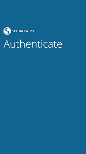 SecureAuth Authenticate- screenshot thumbnail