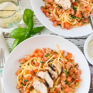Chicken Bruschetta Linguine