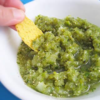 Weeknight Fresh Salsa Verde.