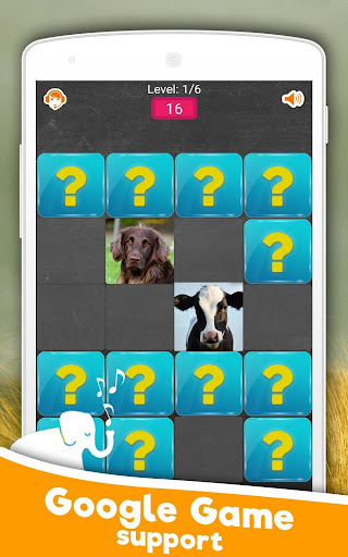 Memory Game: Animals 6.0 screenshots 2