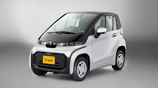 Toyota presenta su nuevo coche urbano eléctrico