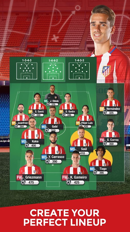 Atlético de Madrid Manager '17- screenshot