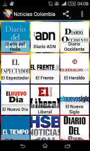 Noticias de Colombia screenshot 0