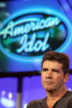 """Photo: """"American Idol"""" judge Simon Cowell listens to a question during the 2007 Fox Winter Press Tour, Saturday, Jan. 20, 2007, in Pasadena, Calif. (AP Photo/Rene Macura)"""