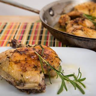 Roasted Lemon Rosemary Chicken.