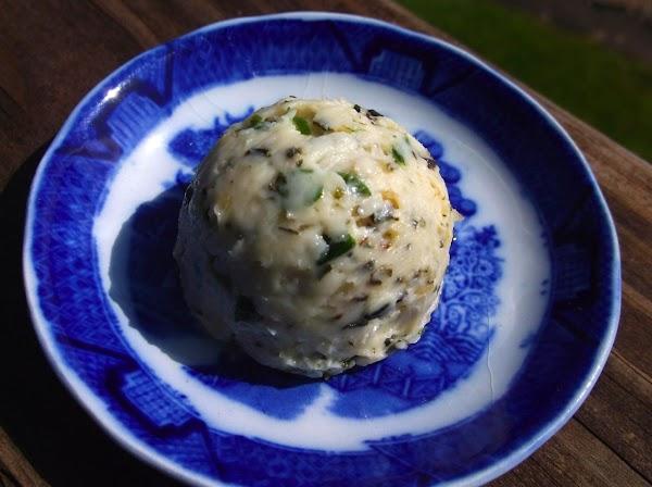 Lemon Herb Seafood Butter Recipe