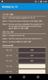 Math tips and tricks- screenshot thumbnail