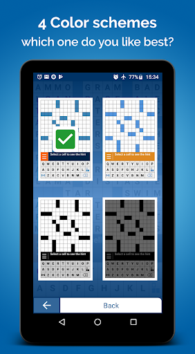 Crossword Puzzle Free apkpoly screenshots 24