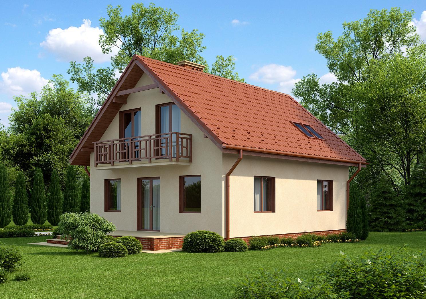 Частные дома дизайн снаружи