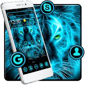 Neon Wild Animal Mobile Theme