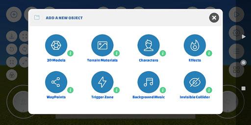 WePlay Game Engine, Game Builder, Game Maker.  captures d'écran 2