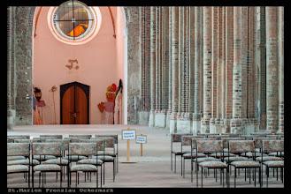 Photo: Die Marienkirche (St. Marien) ist die evangelische Hauptpfarrkirche in Prenzlau und eines der bedeutsamsten Werke der Backsteingotik in Norddeutschland.