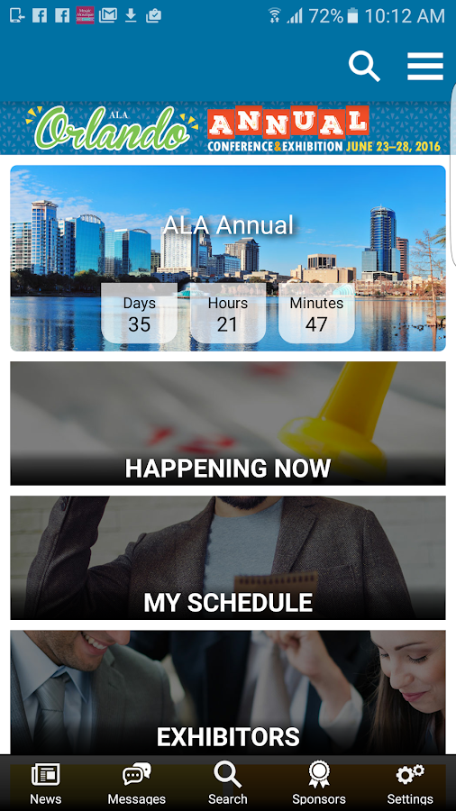 2016 ALA Annual Conference- screenshot