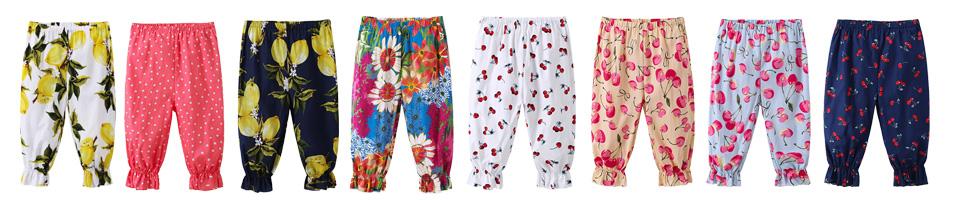 Spodnie alladynki dla dziewczynek
