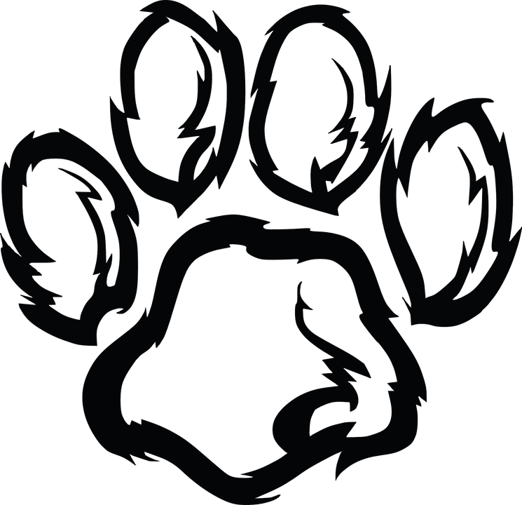 Paw, Paw Print, Dog, Animal,